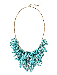 Mermaid Fringe Necklace
