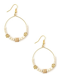 Neptunian Hoop Earrings