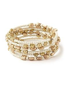 Neptunian Coil Bracelet