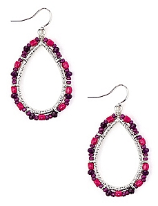 Bright Bead Earrings
