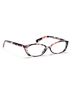 Imagined Floral Reading Glasses