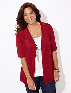 Back Emphasis Cardigan