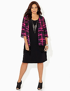 Electric Flow Jacket Dress