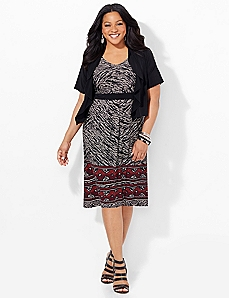 Distinction Jacket Dress