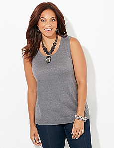 Shimmer Luxe Tank