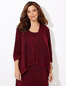 Patchwork Poise Cardigan