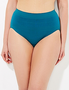 Everglade Seamless Shadow Stripe Hi-Cut Brief
