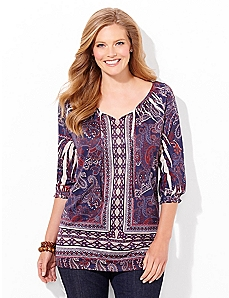Proud Paisley Top