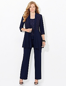Refined Shine Pantsuit