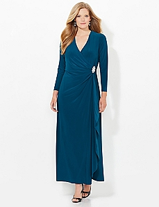 Statuesque Wrap Dress