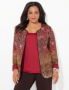 Mosaic Reversible Jacket