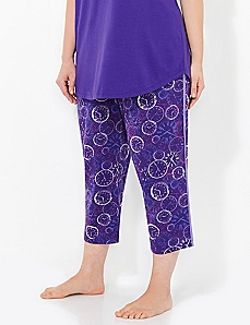 Time To Unwind Slim-Leg Sleep Capri
