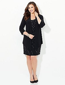 Moonburst Jacket Dress