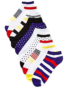 Print Pop 10-Pack Low-Cut Socks