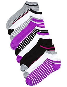 Active Angles 10-Pack Low-Cut Socks