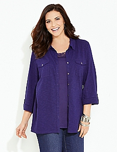 Beacon Hill Buttonfront