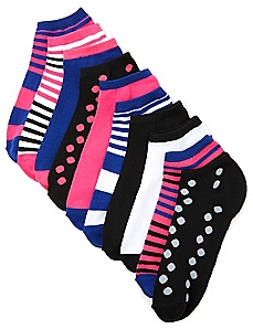 10-Pack Pattern Pop Socks