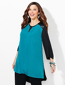 Ravello Colorblock Blouse