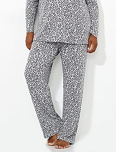 Cozy Collection Leopard Lounge Pant