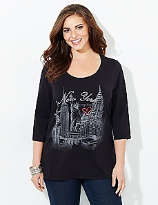 New York My Love Tee