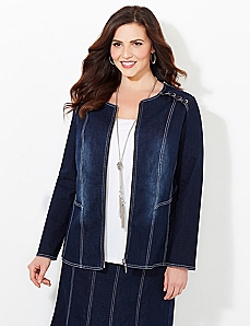 Streamline Denim Jacket