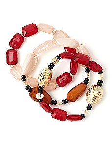 Beaded Brilliance Bracelets