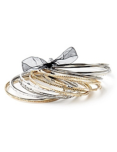 Metallic Mix Bangles