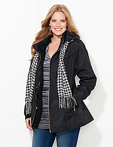 Bennington 3-in-1 Coat With Scarf