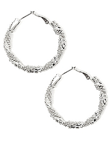 Shimmer Twist Earrings