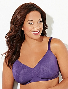 Purple No-Wire Perfect Fit T-Shirt Bra