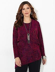 Raspberry Glace Tunic