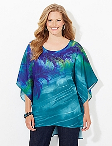 Feather Flow Poncho