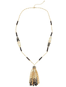 Tangles & Tassels Necklace