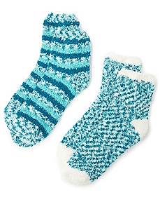 Cozy Double Blend 2-Pack Socks