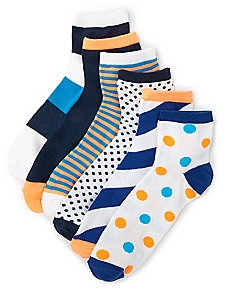 Bold Active 6-Pack Socks