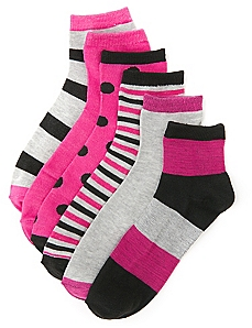 Stay Active 6-Pack Socks