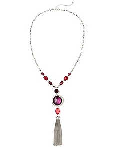 Berry Treasure Reversible Necklace