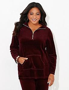Glamour Velour Pullover