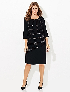 Mix & Mingle Shift Dress