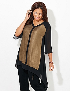 Gilded Twilight Top
