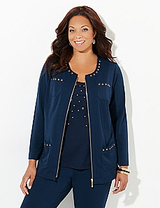 Grommet Glam Jacket