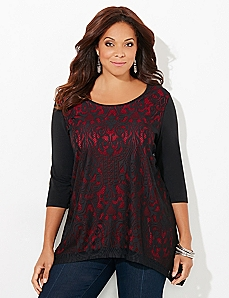 Lace Decor Top