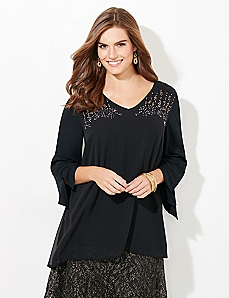 Shadow Shimmer Top