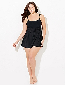 Sweet Pleat Swimdress