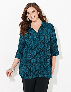 Signature Scroll Blouse