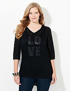 Love In Lace Tee
