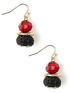 Romantic Bead Earrings