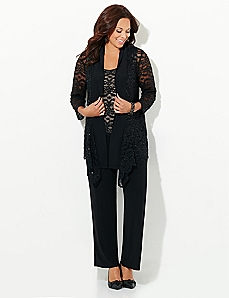 Lace Escape Pantsuit