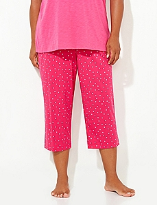 Loveable Dot Sleep Capri