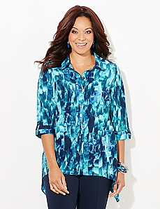 Glass Prism Blouse